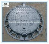 경첩과 자물쇠를 가진 명확한 오프닝 600mm 맨홀 뚜껑