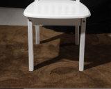 白いカラー椅子(M-X1097)を食事する木の食事の椅子熱い販売木