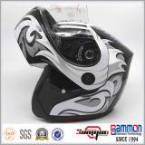 두 배 챙 (LP505)를 가진 헬멧 높은 쪽으로 새로운 도착 환상적인 손가락으로 튀김