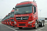 420HP Beiben Truck Tractor Head 6X4 V3 MERCEDES-BENZ Technology
