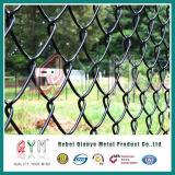 Maille de panneaux/maison et de jardin de frontière de sécurité enduite par PVC de maillon de chaîne de diamant