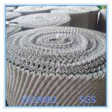 Tubo lavorato a maglia della rete metallica dell'acciaio inossidabile, venditore gassoso-liquido della rete metallica del filtrante