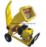 13HP essence à haute vitesse en acier Chipping industriel Bois Chipper Shredder