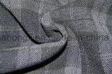 Tessuto del plaid di T/R tinto filato, 63%Polyester 33%Rayon 4%Spandex, 260GSM