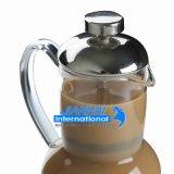 Caldaia di vetro del creatore di tè del caffè dell'OEM con Presser e la tazza