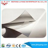 Einlagige Belüftung-imprägniernmembrane für flaches Dach