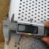 L'acciaio/alluminio/rame hanno perforato la maglia del metallo - rivestimento del laminatoio o rivestimento di brillamento della vernice/sabbia di PVDF