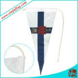 Изготовленный на заказ флаги треугольника, знамена треугольника