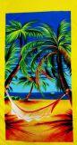 Microfiber напечатало полотенце пляжа