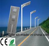 indicatore luminoso di via Integrated esterno di 60W LED con tutti in uno