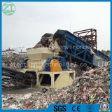 Vieux matelas/sofa/os/cuisine/hôpital animal malade/pneu déchets municipaux/de vivre ordures//usine de machine biaxiale en bois de défibreur