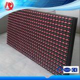 P10 visualizzazioni di LED esterne di vendita calde del segno di colore rosso LED