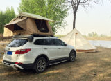 Tenda superiore dura del tetto della tenda di Polyster del cotone della tenda dell'automobile delle coperture del tetto della tenda dura rivestita della parte superiore