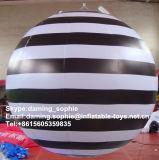 2015 Recentste LEIDENE Lichte Opblaasbare wit-Zwarte Ballon voor de Decoratie van de Partij