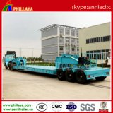 Le Special usine le camion de remorque lourd de Transportaion Lowbed semi