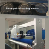 Tipo di verdure macchina imballatrice del cuscino di flusso automatico del sacchetto di sigillamento della parte posteriore