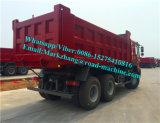 Ribaltatore di Sinotruck HOWO 6X4/autocarro con cassone ribaltabile resistenti 336/371HP Fiji Etiopia