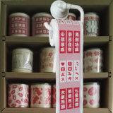 Tissu de salle de bains estampé par coutume rose de rouleau de papier hygiénique de papier de toilette de Camo