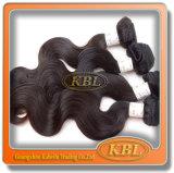 De Maleise Producten van het Menselijke Haar zijn Dyeable