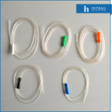Steriles Wegwerfabsaugung-Gefäß im Rohr und im Entwässerung-Gefäß