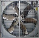 Ventilateur d'extraction monté par obturateur automatique pour des fermes avicoles/prix bas de serre chaude/bétail/usine