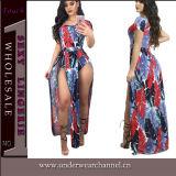 Платье Boho износа пляжа лета способа 2017 женщин макси (TSN0479)