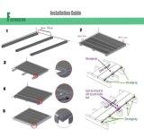 Impermeabile Wood Plastic Composite WPC pavimenti terrazze per Outdoor