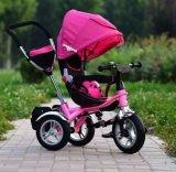 4 superiori in 1 passeggiatore Baby Pram Tricycle (OKM-539) di Trike