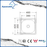Одиночная раковина кухни Moduled нержавеющей стали шара (ACS-4642)