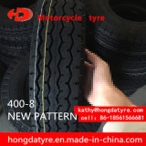 Do pneu conservado em estoque da motocicleta do pneumático da motocicleta do baixo preço do certificado 400-8 do ECE da fábrica ISO9001 venda por atacado chinesa do fornecedor da fábrica do pneumático