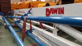 Dawin Hgy17 17mの十分に油圧移動式具体的な置くブーム