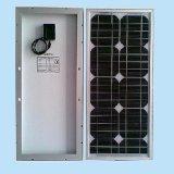 Panneau solaire mono 20W pour le système d'au loin-Grille