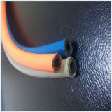 Coloré lisser/le boyau hydraulique à haute pression en caoutchouc industrie de surface de tissu