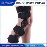 FDA 세륨은 손상된 무릎 및 인대를 위한 정형외과 경첩을 단 무릎 지원 ROM 무릎 부목을 승인했다