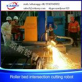 Máquina Kr-Xy5 de Cutting&Beveling da flama do plasma da câmara de ar da tubulação da elevada precisão