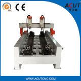 Piedra modificada para requisitos particulares que talla la máquina, madera que trabaja el ranurador del CNC de 4 ejes con rotatorio grande