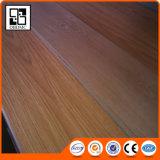 Étage foncé extérieur gravé en relief de PVC de qualité de chêne tinctorial