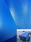 Encerado do PVC do preço de fábrica para a tampa 1000*1000 9*9 do caminhão