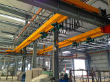 Gru a ponte della doppia trave della gru singola per palo pratico