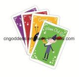 Карточные игры напечатанные таможней для малышей
