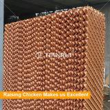 Het KoelStootkussen van het Gevogelte van de Kam van de honing voor het Landbouwbedrijf van het Gevogelte