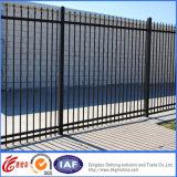 Dekorative Qualitäts-moderner geschweißter bearbeitetes Eisen-Zaun