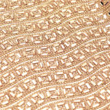 feuille adhésive en cristal de Rhinestone de difficulté chaude desserrée de Rhinestone de 24X40cm