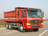 중국 Sinotruk 336HP HOWO 6X4 판매를 위한 무거운 덤프 트럭