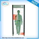 Puerta del detector de metales de la detección de la seguridad de 33 zonas