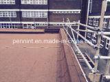 地下の地階等を構築するための砂の表面の瀝青の防水膜