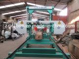 Horizontzalに移動式帯鋸の製材所を作る木製の板