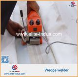 Geomembrane Wedge Welder Machine PVC HDPE soldagem Gun