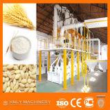 Moinho de farinha completo industrial automático do trigo da pequena escala