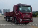 Le seul camion résistant d'entraîneur de Hyundai de camion à benne basculante de Hyundai de camion de cargaison de Hyundai de camion de mélangeur concret de Hyundai de camion de la Chine Sichuan Hyundai d'approvisionnement de compagnie